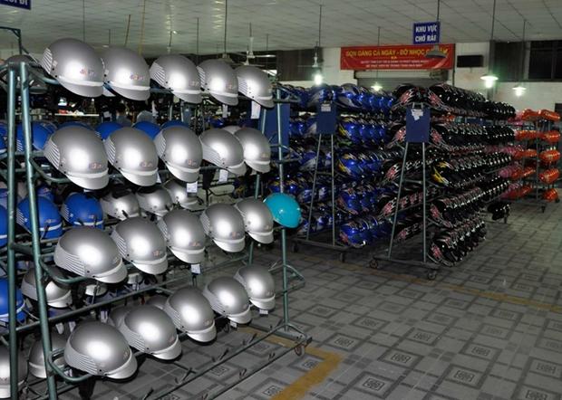 Xưởng sản xuất mũ bảo hiểm giá rẻ