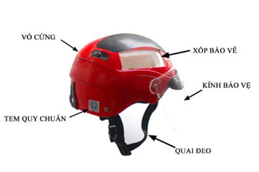 Xưởng sản xuất mũ bảo hiểm đạt chuẩn.